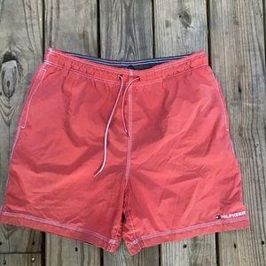 Tommy Hilfiger salmon swim short trunks M